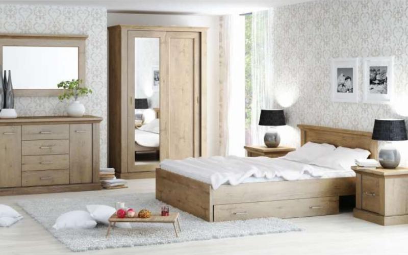 Zagłówek drewniany łóżka Isabela 5