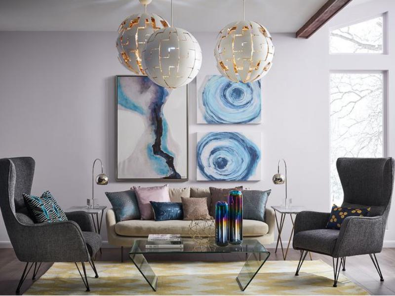 Kolor ścian w salonie Elaton