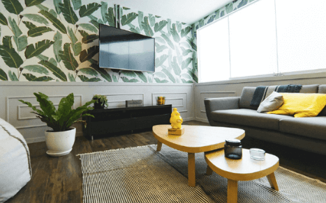 Rozmiar telewizora a odległość w salonie